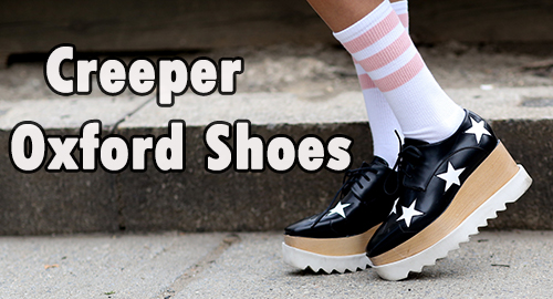 Creeper Oxfrod Shoes